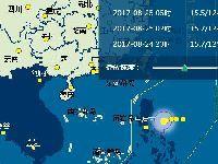 2017年第14号台风帕卡路径实时发布系统