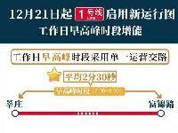 上海地铁1号线工作日早高峰运行间隔将缩