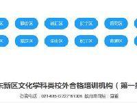 上海校外合格的培训机构白名单查询方式