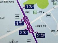 上海地铁5号线南延伸段各站点出入口位置