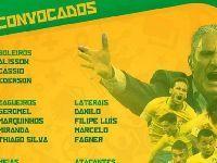 2018世界杯巴西队23人大名单公布 名单分