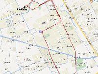 6月7日起松江九亭蒲汇路封闭施工 3条公