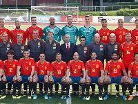 2018世界杯西班牙队全家福及球衣号码