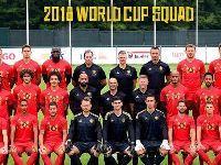 2018世界杯比利时队全家福合照