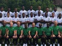 2018世界杯尼日利亚队全家福照片欣赏