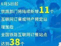 6月5日起 铁路部门新增11个高铁动车组互