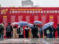 2019上海新年首场招聘会举行 近万名应届