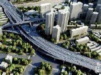 上海南北高架天目路立交(转盘)改造 这些