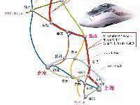 盐通高铁(含南通至张家港段)线路图及