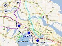 苏锡常南部高速路线图