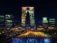 2021蘇州東方之門燈光秀開放時間表(持