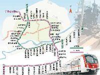 沈阳地铁九、十号线开始铺轨 18年5月实