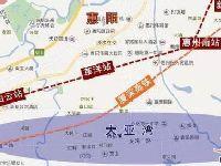 深圳地铁14号线惠州段4个站点位置一览