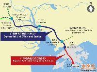 """广深港高铁""""一地两检""""议案通过 香港段"""