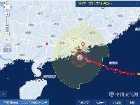 台风天鸽逼近 13时登陆珠海到台山一带