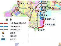 深圳地铁13号线将向南延伸东角头 设2个