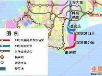 深圳地铁13号线南延段最新规划(线路图