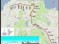 深圳地铁6号线一、二期工程进展  预计2