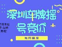 深圳2019年第4期车牌摇号结果出炉 中签