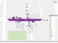 百鸽笼站地铁最早几点发车?附出口示意图