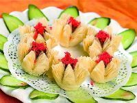 温州小吃-荷花酥