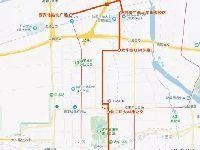 西安地铁4号线北客站北广场站接驳公交线