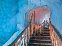 一个冰的世界 宁武万年冰洞