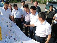 王平局长调研榆林路网建设项目