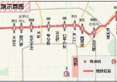 北京地铁12号线最新线路示意图公布 预计2021年建成通车