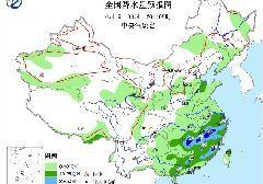 2017年4月19日未来三天全国天气预报:南方将出现较强降水 南疆盆