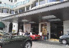 郭富城方媛婚宴香港半岛酒店探访 多名保安严阵以待