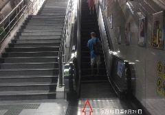 9月15日-21日广州地铁1号线杨箕站D口扶梯检修停用