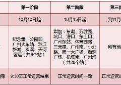 2017年10月15日广州地铁安检升级第二阶段站点一览