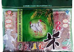有机五彩米 纯天然五种颜色 朱鹮产地珍品