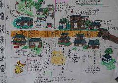 扬州大学学生自制美食地图 为游客推荐放心美食