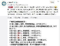 3月30日-31日广州将有暴雨 本周后半段气温将降3℃-5℃