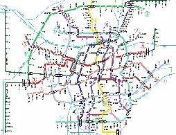沈阳11条地铁线路规划图(最新)