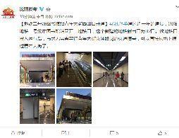 沈阳地铁二号线图书馆站青年大街西出口开通