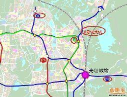 深圳光明新区地铁线路一览(在建+待建+规划)