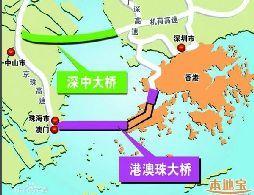 港珠澳大桥最终接头浇筑 4月份全线贯通年底实现通车