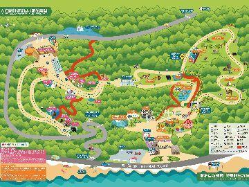 大连森林动物园地图线路