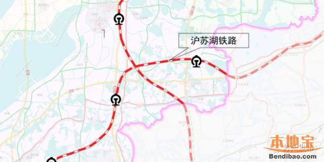 苏州十三五期间将规划建设的五大重要铁路项目    通苏嘉铁路起自南通