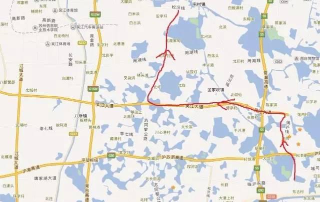 苏同黎公路快速化改造预计10月开工 建成后吴江