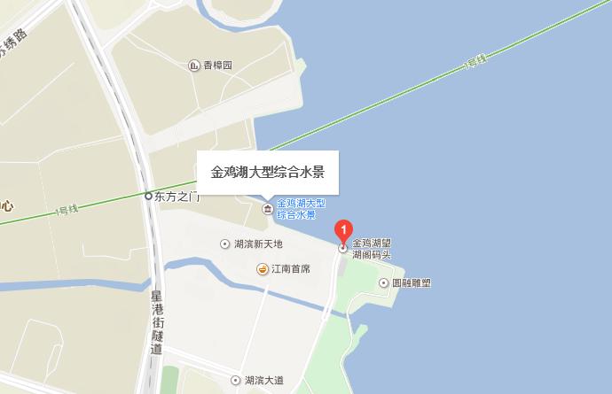 苏州金鸡湖音乐喷泉在哪?怎么去?