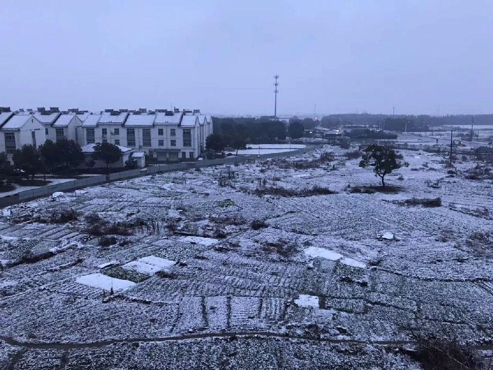 2019年苏州什么时候开始下雪?