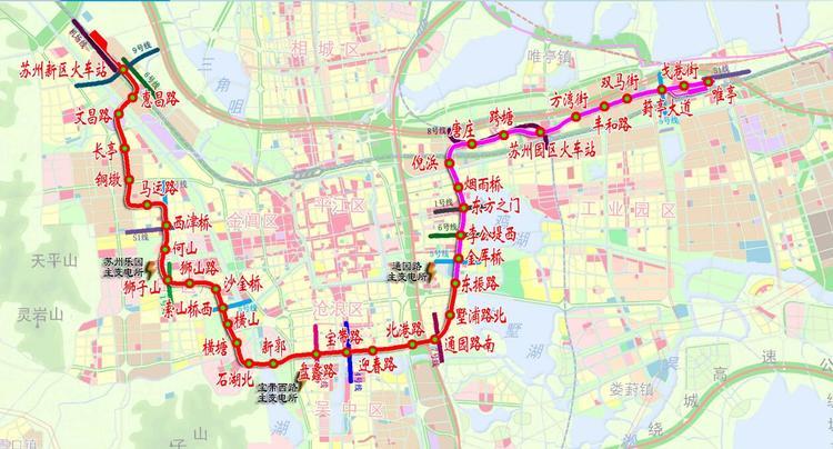 苏州地铁3号线全线轨通 预计2019年12月开通试运营