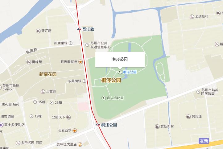 苏州园林年卡桐泾公园办理点在哪里?