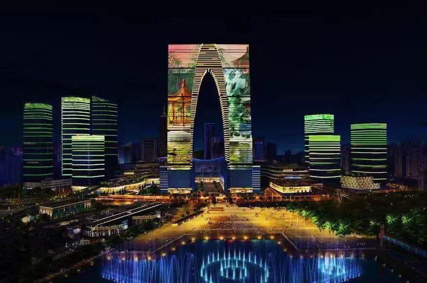 2019苏州东方之门灯光秀开放时间表(持续更新)