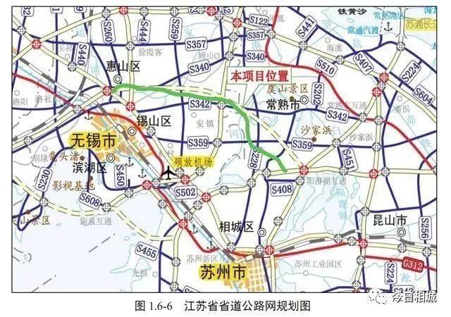 锡太高速公路无锡至苏州段工程简介(车道 走向 开工时间)