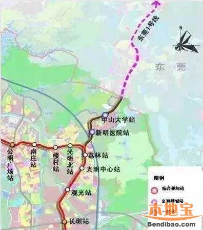 东莞地铁1号线支线对接深圳地铁22号线